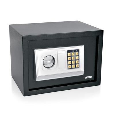 Trezor hotelový 3 mm, černá/šedá - 35 x 25 x 25 cm - 5,6 kg