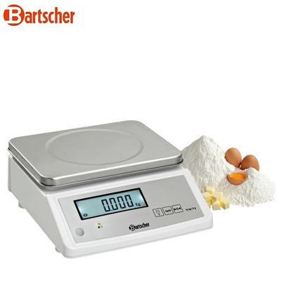 Váha do 15 kg s přesností 5 g Bartscher, 15 kg - 280 mm - 2,8 kg - 1