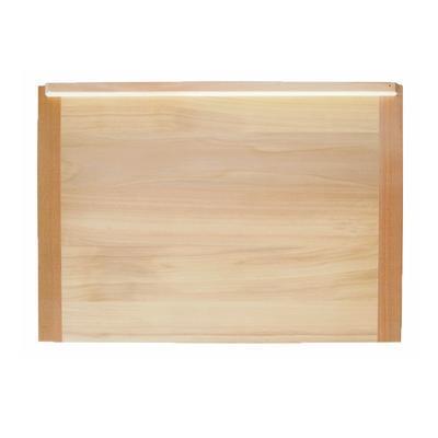 Vál kuchyňský dřevěný, 46 cm - 33 cm - 1,5 cm