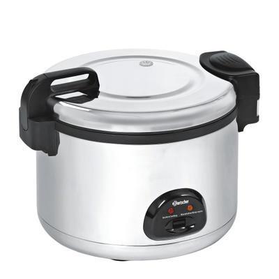 Vařič rýže pro 40-60 osob Bartscher, 12 l - 2,85 kW / 230 V - 560 x 465 x  400 mm - 1
