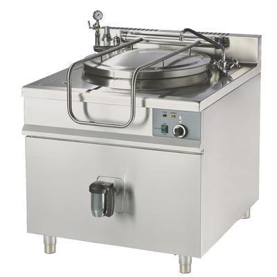 Varný kotel elektrický nebo plynový 85 - 150 l, elektro 85 l - 70 x 90 x 90 cm - 12 kW/400 V