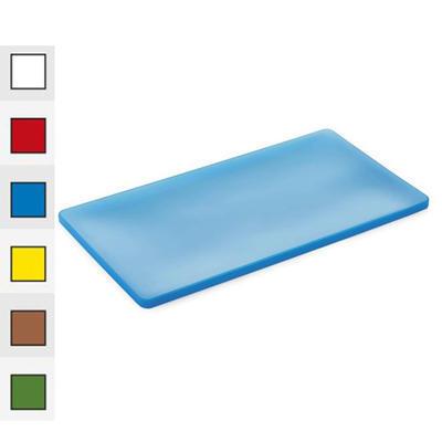 Víko na gastronádoby silikonové barevné, modrá - GN 1/2