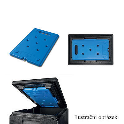 Víko pro chladicí vložku GN 1/1, GN 1/1 - 600 x 400 x 60 mm