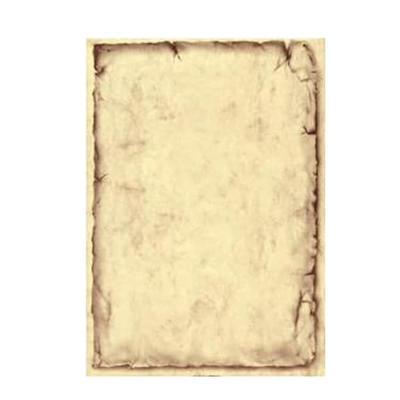 Vkladový list mramorový Classic s rámečkem, chamois - A5 - 50 ks