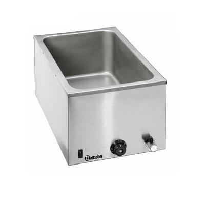 Vodní lázeň GN 1/1-200 mm s kohoutem Bartscher, GN 1/1-200 mm - 1200W - 9,5 kg