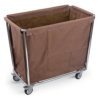 Vozík hotelový na prádlo hnědý, vozík komplet - 950 x 580 x 840 mm - 11 kg - 1