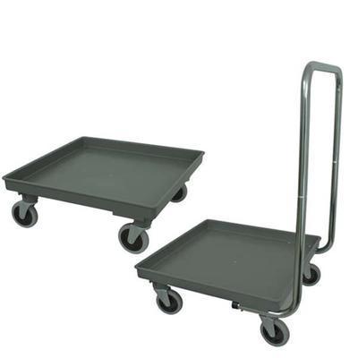 Vozík transportní na koše do myčky, bez držadla - 60 kg - 1