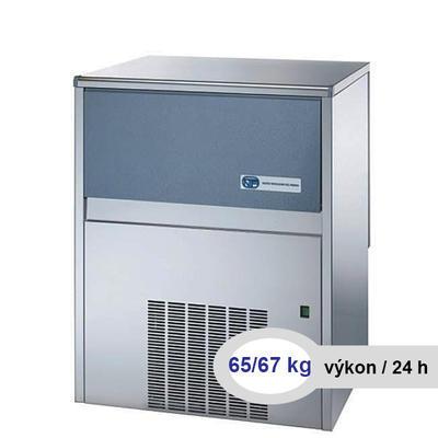 Výrobník drceného ledu SLF 130, A- chlazený vzduchem - 450 x 620 x 680 mm - 420 W / 230 V