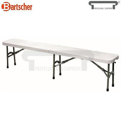 Zahradní skládací lavice Barstscher, 1840 x 295 x 440 mm - 11 kg - 1