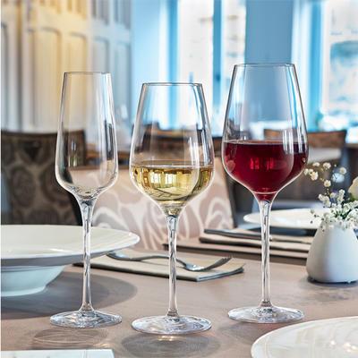 Sklenice na červené víno Sublym, cejch 0,1 a 0,2 l - 450 ml - 8,7 x 25 cm - 2