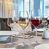 Sklenice na červené víno Sublym, cejch 0,1 a 0,2 l - 450 ml - 8,7 x 25 cm - 2/2