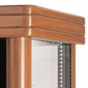 Chladicí vitrína Scaiola 400G Barocco, 400 l - 750 x 750 x 1860 mm - 230 V - 2/4