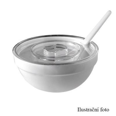 Miska kulatá melaminová Bufet bílá - 2