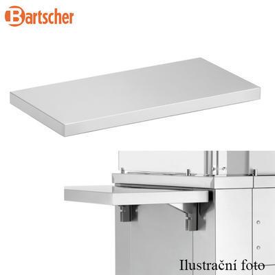 Boční odkládací deska k varné stanici Bartscher, 700 x 350 x 80 mm - 4,35 kg - 2