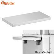 Boční odkládací deska k varné stanici Bartscher, 700 x 350 x 80 mm - 4,35 kg - 2/2