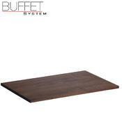 Bufetový modul nerez s deskou uni, nerez - světlý/uni deska - 6,5 cm - 2/3