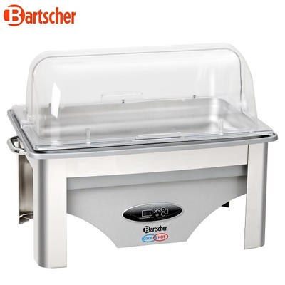 Chafing dish GN 1/1-65 mm Cool and Hot Bartscher, 9 l - GN 1/1-65 mm - 0,7 kW / 230 V - 2