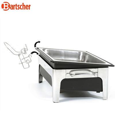 Chafing dish na polévku 2 x 4 l Bartscher, objem 2 x 4 l - 636 x 357 x 460 mm - 2,2 kW / 230 V - 2