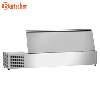 Chladicí nástavba nerez GN 5x1/3 a 1x1/2 GN Bartscher, 1500 x 400 x 275 mm - 0,174 kW / 230 V - 27,8 kg - 2