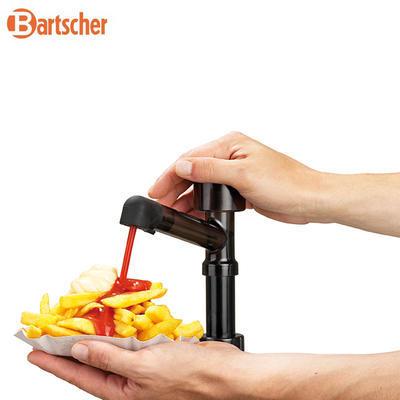 Dávkovač kečupu, hořčice, majonézy 3Ř, 3 x 3,3 l - 394 x 224 x 456 mm - 2