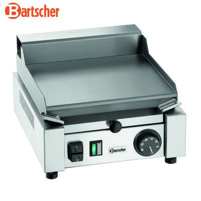 Grilovací deska 260E hladká Bartscher, 304 x 322 x 182 mm - 1,2 kW / 230 V - 9,2 kg - 2