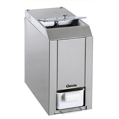 Drtič ledu Bartscher, 60 kg / hod. - 0,06 kW / 230 V - 173 x 380 x 385 mm - 2