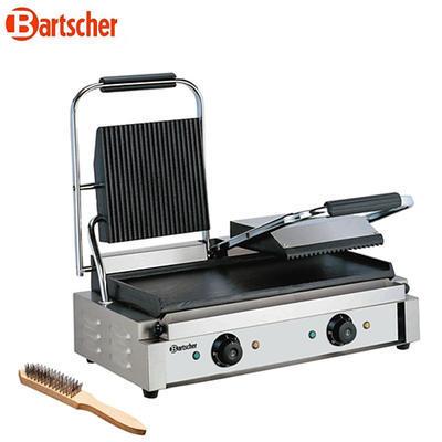 Gril kontaktní dvojitý rýhovaná a hladká deska Bartscher - 2