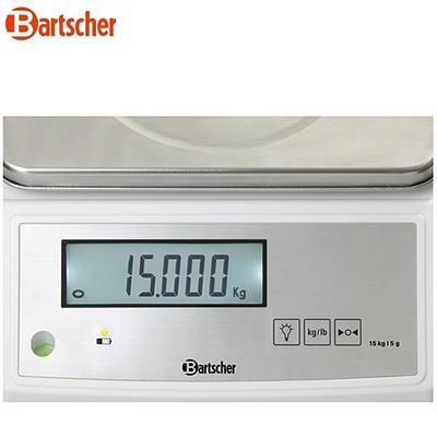 Váha do 15 kg s přesností 5 g Bartscher, 15 kg - 280 mm - 2,8 kg - 2