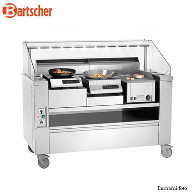 Mobilní front cooking stanice Bartscher - 2