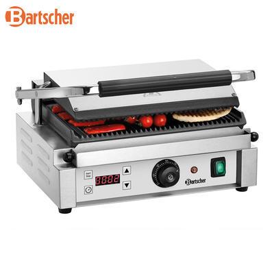 Gril kontaktní Panini 1RDIG Bartscher, 410 x 400 x 200 mm - 2,2 kW / 230 V - 18 kg - 2