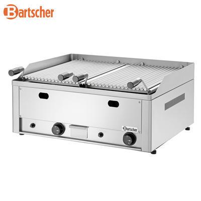 Gril stolní lávový plynový dvojitý Bartscher, 660 x 570 x 282 mm - 8 kW / plyn - 40,6 kg - 2