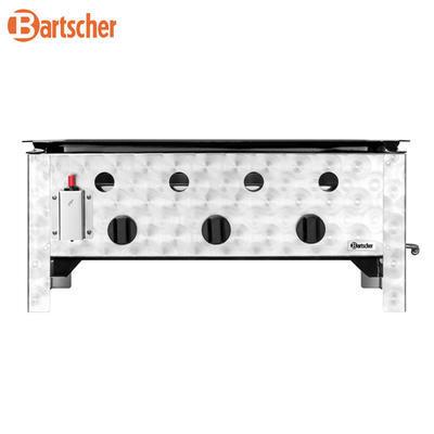 Gril stolní plynový 10 kW s pánví Bartscher, 705 x 560 x 275 mm - 10 kW - 13,9 kg - 2