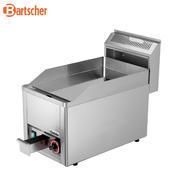 Grilovací deska 320E hladká Bartscher, 330 x 625 x 450 mm - 3 kW / 230 V - 24 kg - 2/3