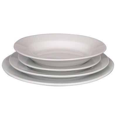 Talíř hluboký porcelánový Tonda, talíř hluboký - 22 cm - 2