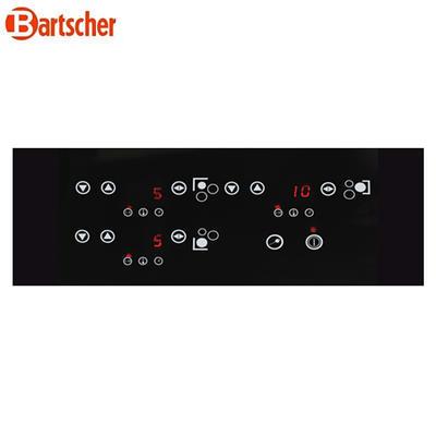 Indukční vařič trojitý IK 3342 Bartscher, 510 x 485 x 65 mm - 3,4 kW / 220-240 V - 6,6 kg - 2