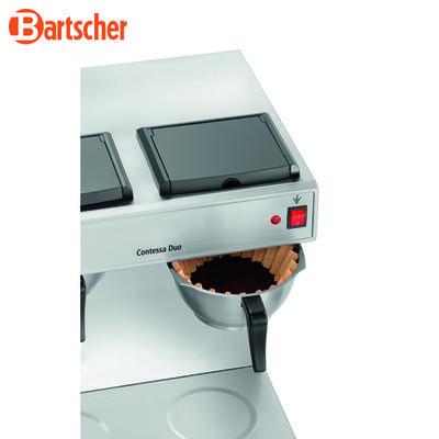 Kávovar Contessa Duo Bartscher, 2 x 2 litry - 430 x 400 x 520 mm - 3,2 kW / 230 V - 2