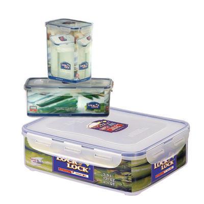 Dózy na potraviny Lock&Lock různé objemy, 15,1 x 10,8 x 18,5 cm - 1,8 l - 2