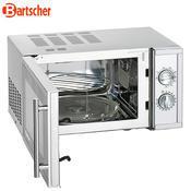 Mikrovlnná trouba 23 l Bartscher gril, 23 l - 1,4 kW / 230 V - 13,5 kg - 2/4