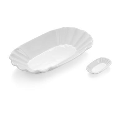 Miska na hranolky porcelánová, miska vysoká - 25 x 12,5 x 5 cm - 2