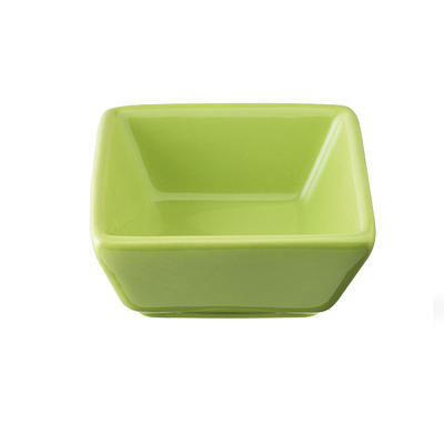 Miska porcelánová Basic barevná, černá - 76 x 76 x 35 mm - 0,06 l - 2