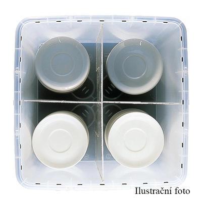 Stohovatelný přepravní box 32 litrů, box 32 l - 40 x 40 x 31,5 cm - 2