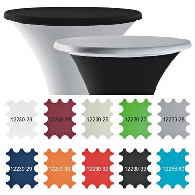 Potah na desku stolu Stretch 70 a 80 cm, bílá - 70 cm - 2