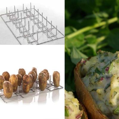 Rošt s trny na pečení brambor Rational - 2