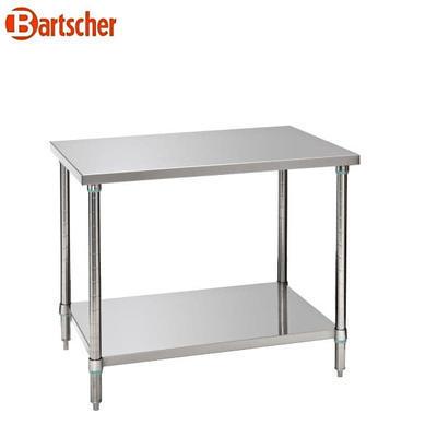 Pracovní stůl nerezový Bartscher, 1200 x 700 x 860-900 mm - 25,12 kg - 2