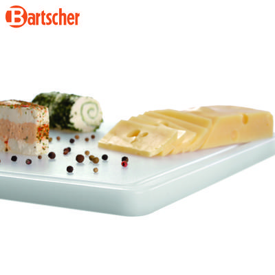 Prkno krájecí barevné PRO Bartscher, žluté - 530 x 325 x 24 mm - 3,2 kg - 2