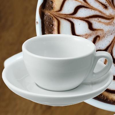 Šálek a podšálek na cappuccino Italia, šálek - 5,5 x 9,5 cm - 0,20 l - 2