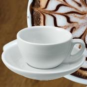 Šálek a podšálek na cappuccino Italia, šálek - 5,5 x 9,5 cm - 0,20 l - 2/4