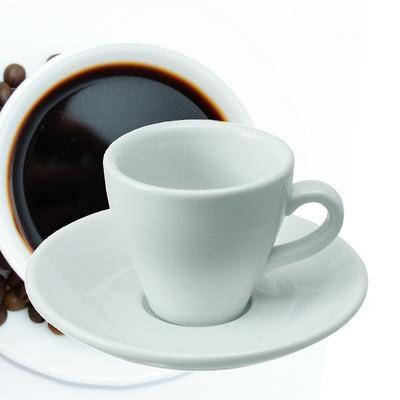 Šálek a podšálek na espresso Italia, šálek bílý - 6 x 6,5 cm - 0,09 l - 2