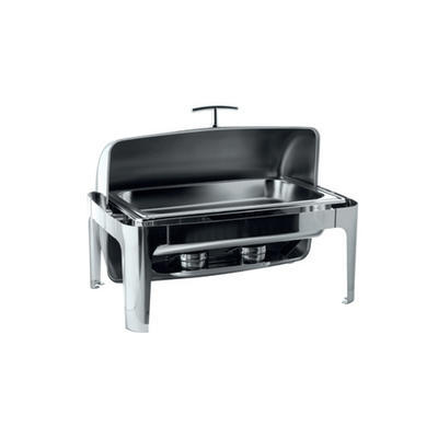 Chafing dish GN 1/1-65 mm s rolltopem kombi, GN 1/1-65 mm - 500W topení - 67 x 41 x 44 cm - 2