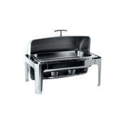 Chafing dish GN 1/1-65 mm s rolltopem kombi, GN 1/1-65 mm - 500W topení - 67 x 41 x 44 cm - 2/3